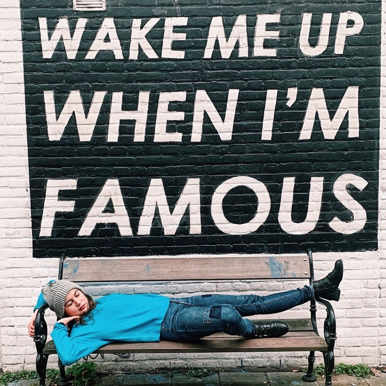 wake me up when i'm famous