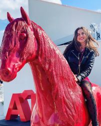 cheval rouge A'DAM LOOKOUT
