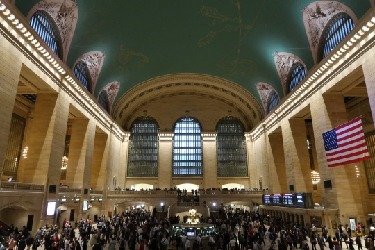 Grand Central Terminal hall